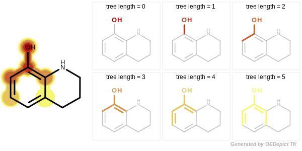 Enumerating tree fragments