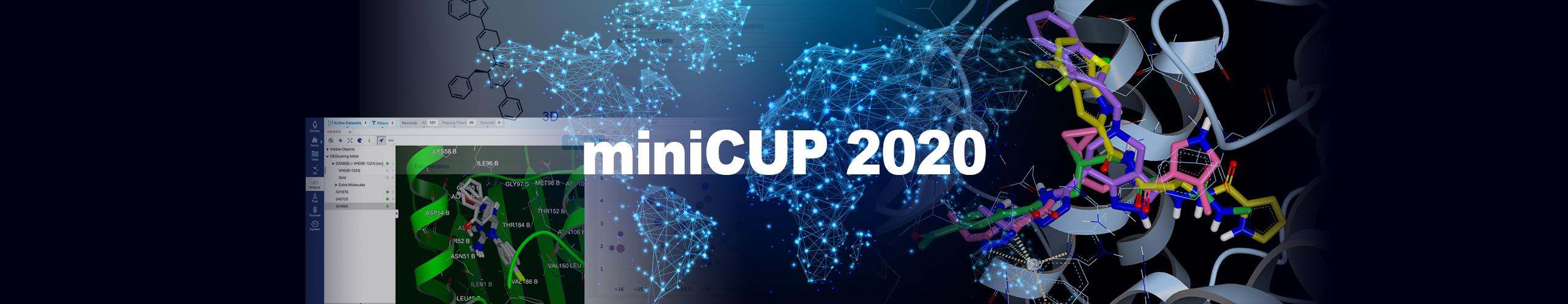 OpenEye miniCUP 2020
